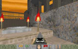 Doom Underground — Review of spooky04 WAD (spooky04)